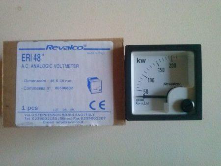 02 Revalco ERI 48 AC 200V 2kw skala 48X48