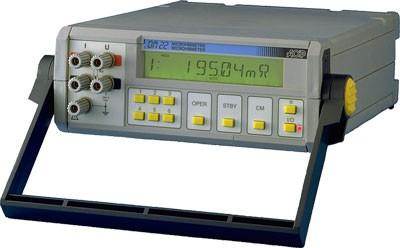 AOIP OM22-1 Ipari kivitelű programozható mikro-ohmmérő