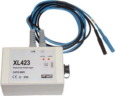 HTItalia XL423 feszültségmérő adatgyűjtő egyfázisú rendszerekhez