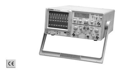 GW Instek GOS630FC 30MHz Analog oszcilloszkóp