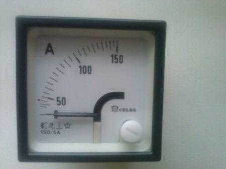 Celsa EQ48 150/5 Lágyvasas műszerek AC/DC áram mérésre 48X48