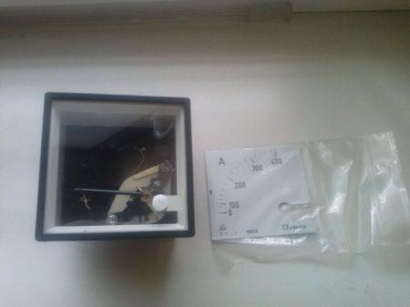 Celsa EQ72i 400/5 Lágyvasas műszerek AC áram mérésre 72X72