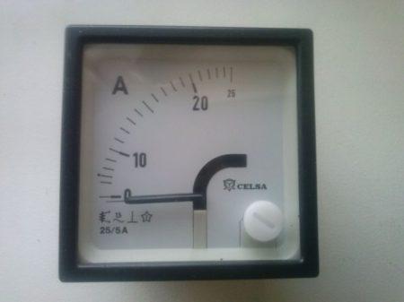 Celsa EQ48 25/5 Lágyvasas műszerek AC/DC áram mérésre 48X48