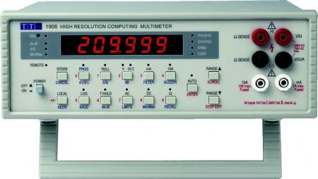 TTi 1906 Számítási funkciókkal rendelkező, 5½-digites asztali digitális multiméter