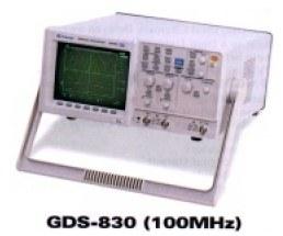 GW Instek GDS830  100 MHz Digitális oszcilloszkóp