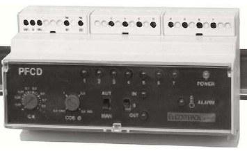 Elcontrol PFC5D-COSFI-REG automatikus fázisjavító készülék