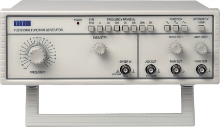 TTi TG-210 Funkciógenerátor