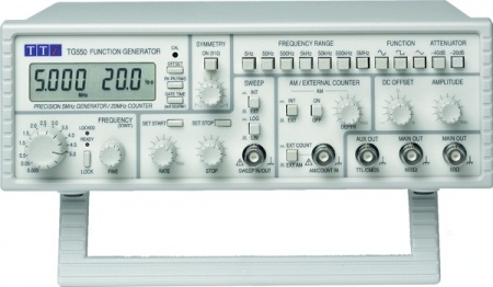 TTi TG-550 Funkciógenerátor