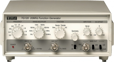 TTi TG-120 Funkciógenerátor