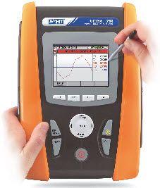 HTItalia VEGA78 Professzionális 1- és 3-fázisú teljesítmény-analizátor