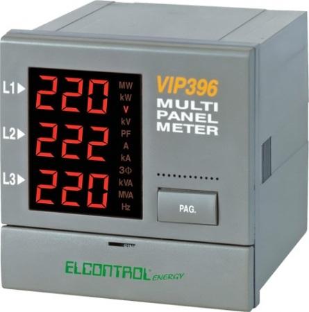 Elcontrol VIP396 Teljesítmény analizátor alapkészülék