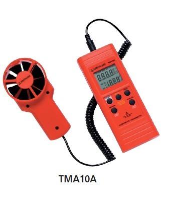 Amprobe TMA 10A Hőmérséklet és légsebesség mérő