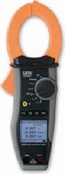 HTItalia HT9022 DC/AC, AC+DC TRMS professzionális Teljesítménymérő lakatfogó (1000A)