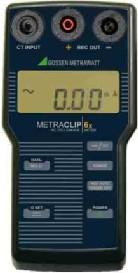 Metrawatt MetraClip63 AC/DC (mA) lakatfogó adapter+műszer