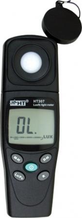 HT307 Digitális luxmérő beépített érzékelővel és DC kimenettel