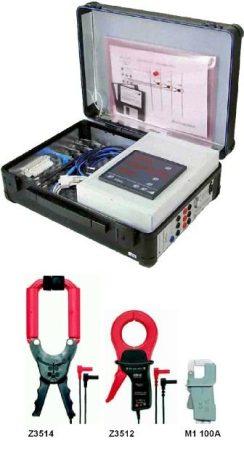 Metrawatt A2000 Mobilset Többfunkciós teljesítmény analizátor