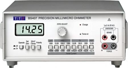TTi BS-407 MilliOhmmérő