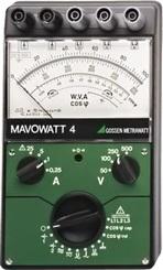 Metrawatt Mavowatt4 Analóg multiméter/wattmérő