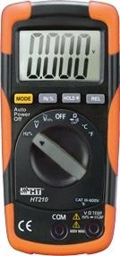 HTItalia HT-210 4000-pontos digitális multiméter