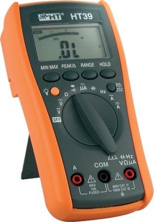 HTItalia HT39 TRMS 4000-pontos digitális multiméter RS232 interfésszel