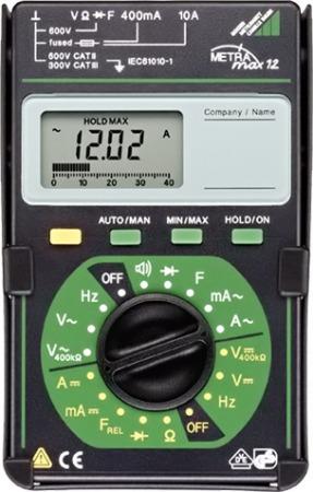 Metrawatt MetraMax12 Analóg-digitális multiméter