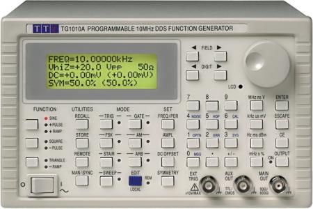 TTi TG-1010A Programozható DDS funkció generátor