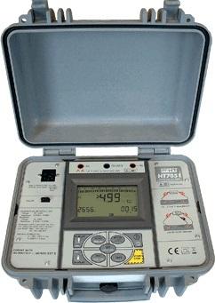 HTItalia HT7051 Programozható 5 kV-os digitális szigetelés és folytonosság vizsgáló