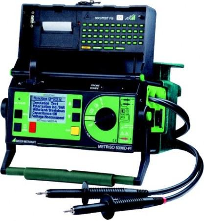 Metrawatt Metriso 5000DPI 5000V-os digitális szigetelésvizsgáló