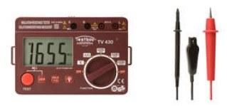 Testboy TV430N Szigetelésvizsgáló