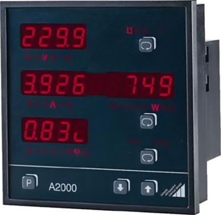 Metrawatt A2000 V001 3 fázisú többfunkciós teljesítménymérő és hálózati analizátor